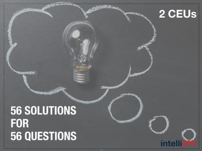 56 Solutions for 56 Questions (2 CEU)